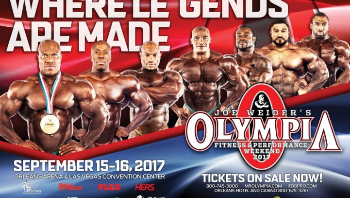2017 Mr. Olympia Fitness and Performance Weekend; Pre-DSHEA Ingredient List Meeting Set for October 3, 2017; FDA Warns Total Nutrition, Inc.; Rick Collins to Speak at Supply Side West