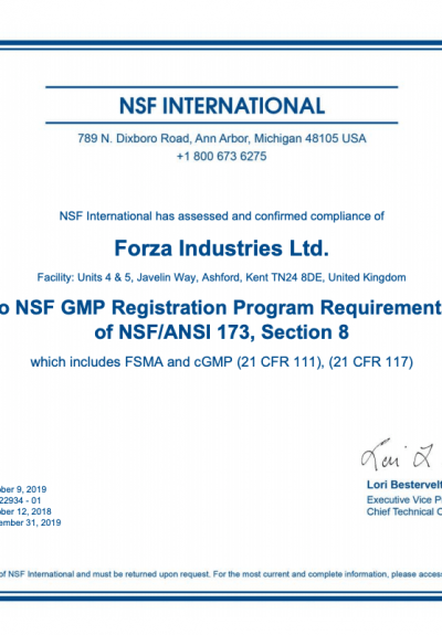 Gmp Certification Good Manufacturing Practice Supplement