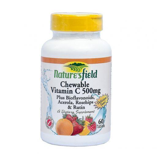 Nature's Field Chewable Vitamin C