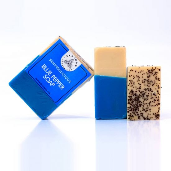 Skhindu Blue Pepper Soap
