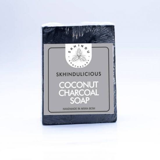 Skhindu Coconut Charcoal Soap