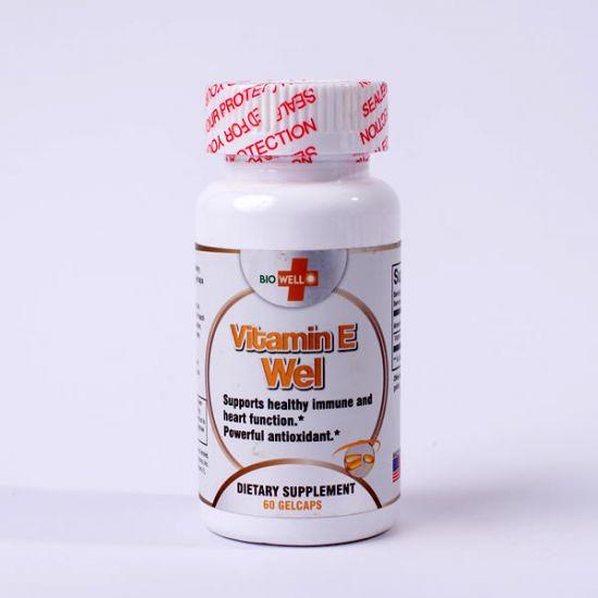 Vitamin-E by 60 caps