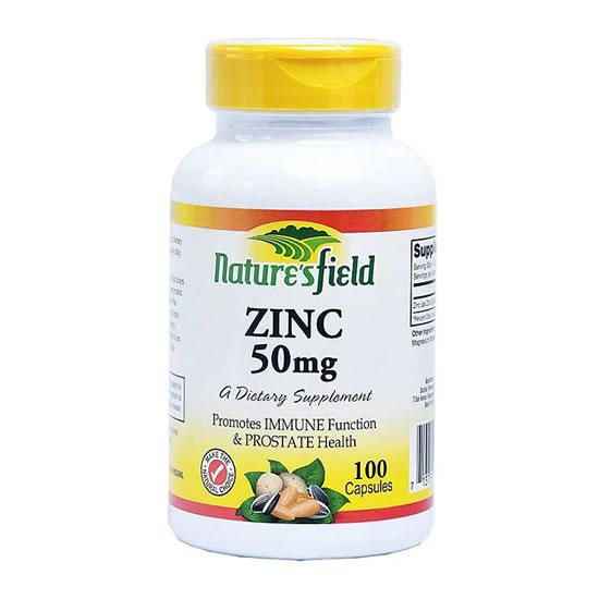 naturesfield zinc 50mg