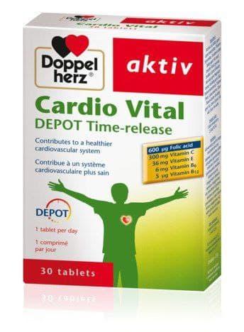 Doppelherz Cardio Vital, Depot time release - 30 Tabs