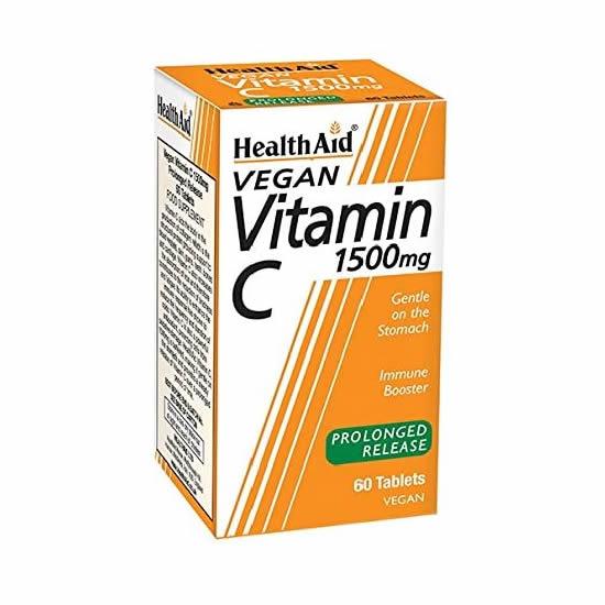 HealthAid Vitamin C 1500mg Prolonged Release - 60 Tablets