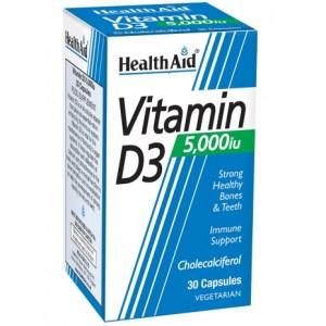 HealthAid Vitamin D3 5000iu 30's Capsules