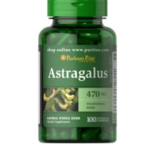 Puritan's Pride Astragalus 470 mg - 100Cap