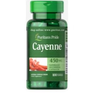 Puritan's Pride Cayenne (Capsicum) 450 mg - 100Caps