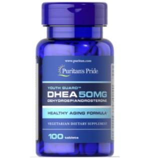 Puritan's Pride DHEA 50mg - 100 Tabs