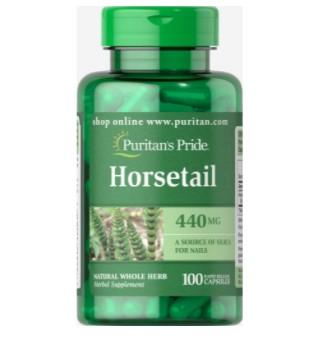 Puritan's Pride Horsetail 440mg - 100 Caps