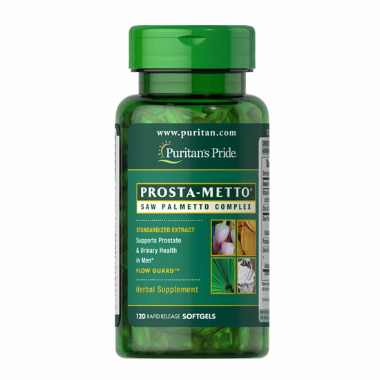 Prosta-Metto® Saw Palmetto 120 Softgels