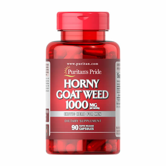 Puritan's Pride Horny Goat Weed 1000 mg - 90 Caps