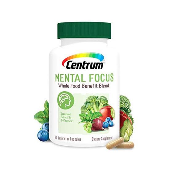 centrum mental focus