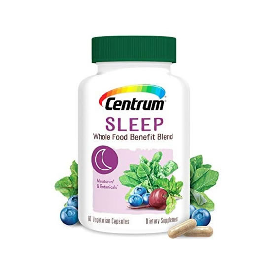 Centrum Sleep Whole Food Benefit Blend - 60 Caps