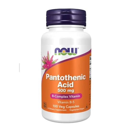 now food pantothenic acid 500mg