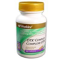 Kebaikan DTX complex shaklee