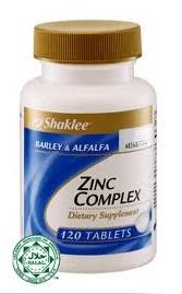 Kebaikan Zinc Complex Shaklee Untuk Lelaki