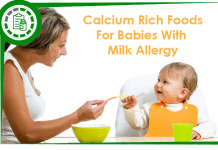 Calcium foods for babies