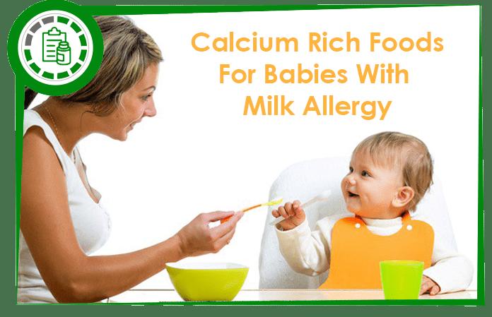 Calcium foods for babies