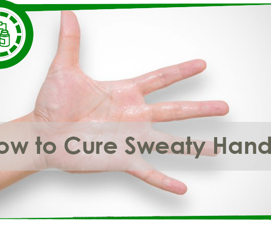 How to cure sweaty hands permanently and naturally