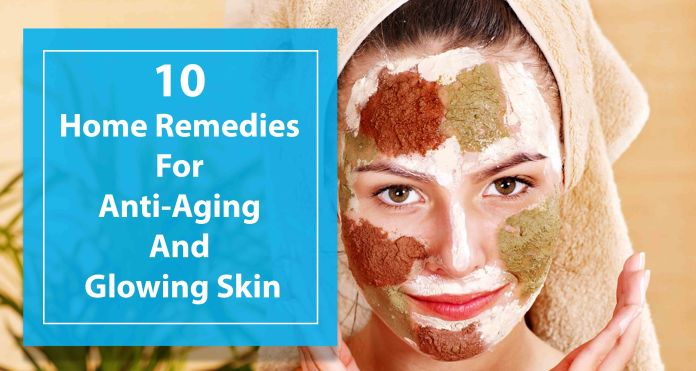 Anti ageing Home Remedies