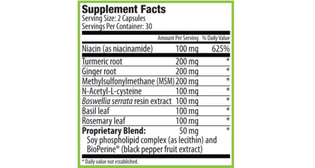 Trim 14 Ingredients