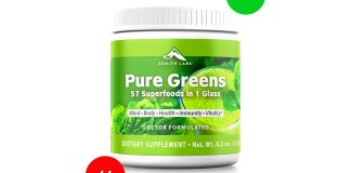 Zenith Labs Pure Greens Review