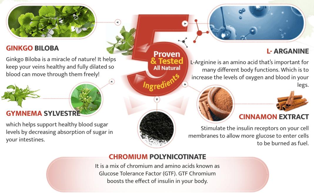 Gluco Neuro Ingredients