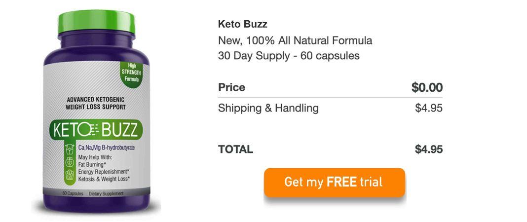 Keto Buzz Free Trial