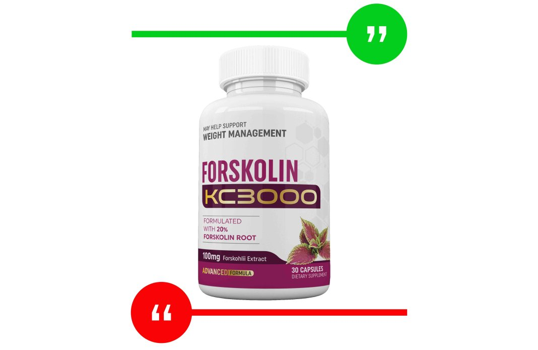 Keto KC 3000 Forskolin Review