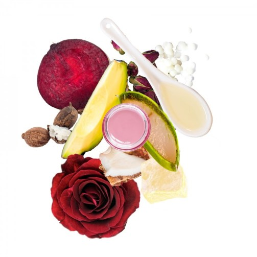 Rose Lip Balm with SPF