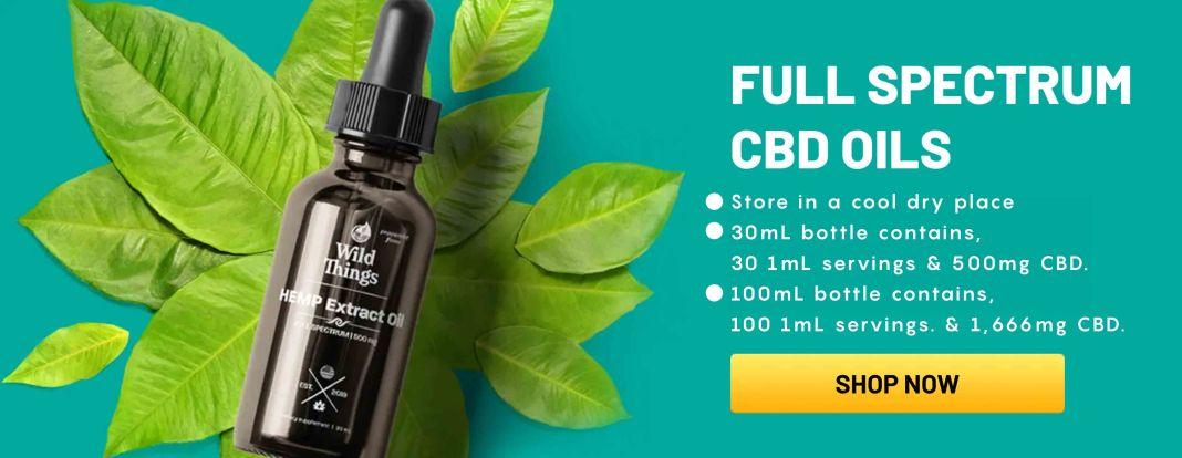 Wild Things CBD Free Trial Bottle