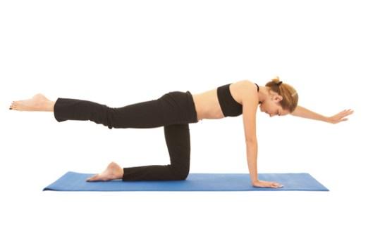 back leg raise