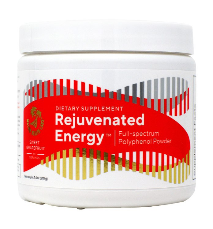 Rejuvenated Energy Review