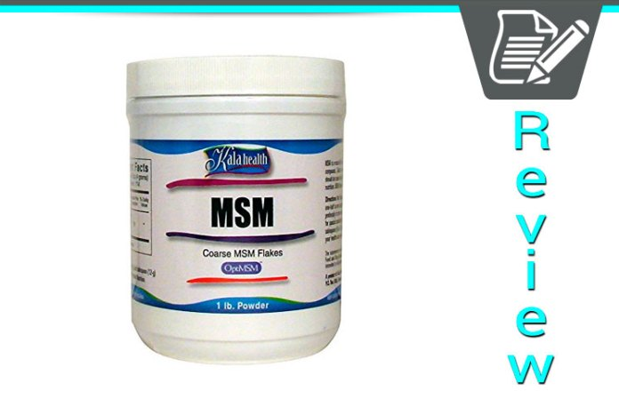 KALA Health MSM Powder Review - Supplement Police