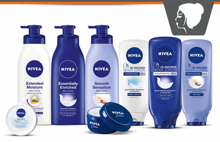NIVEA – Healthy Skin Care Cremes, Body Lotions & Products?