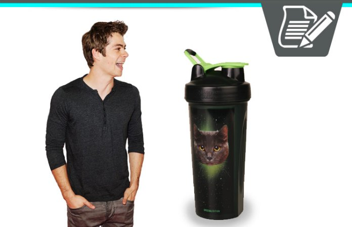 Galaxy Cat Blender Bottle Review - Campus Protein's Protein Drink Mixer?