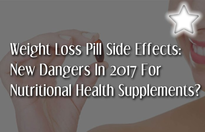 weight loss pill side effects