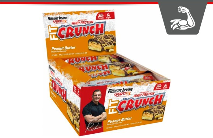 Fit Crunch Bars Chef Robert Irvines Protein Rich Baked