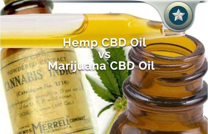 Hemp CBD Oil vs Marijuana CBD Oil