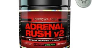 Primeval Labs' Adrenal Rush V2 Stim Pre Workout