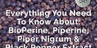 Everything On BioPerine, Piperine, Piper Nigrum & Black Pepper Extract