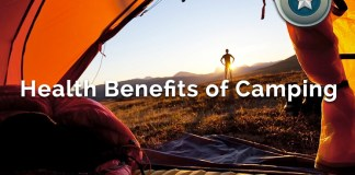 Camping Health Benefits