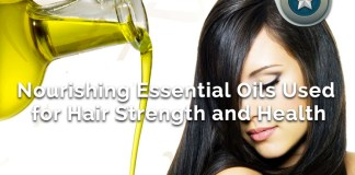 nourishing hair strength essential oils