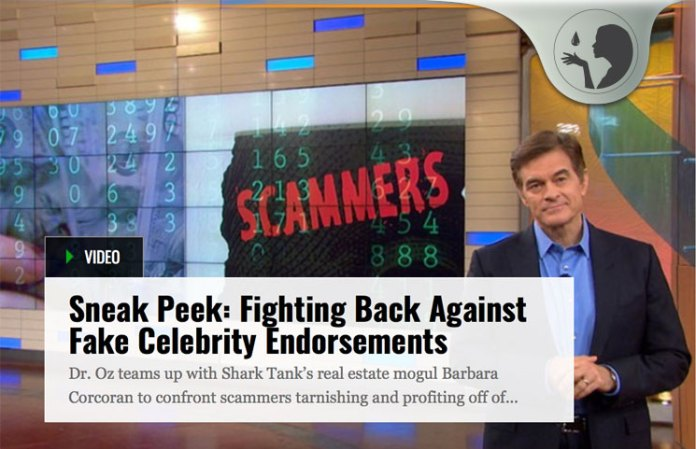 Doctor Oz and Barbara Corcoran Confront Online Skin Cream Scammers