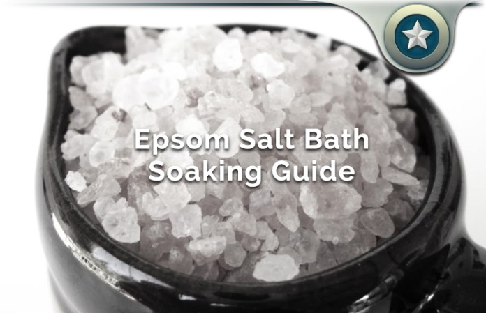 Epsom Salt Bath Soaking Health Benefits