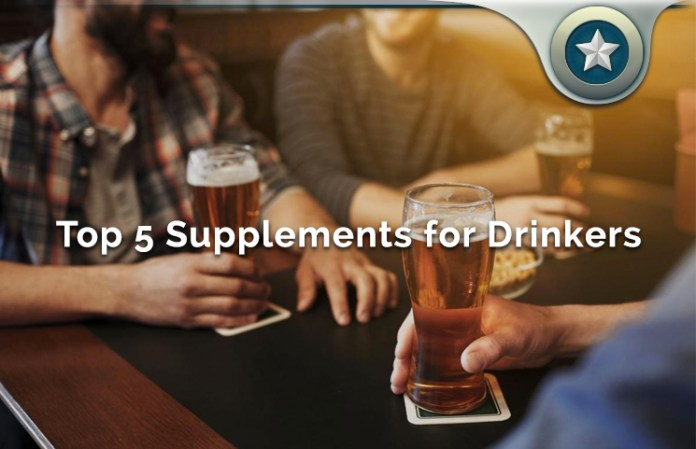 Top 5 Supplements for Drinkers