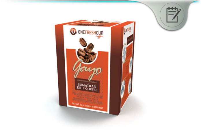One Fresh Cup Review Mess Free Single Serve Gourmet Coffee Brew Packs