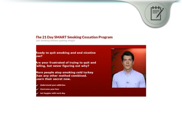 21-Day Smart Smoking Cessation Program
