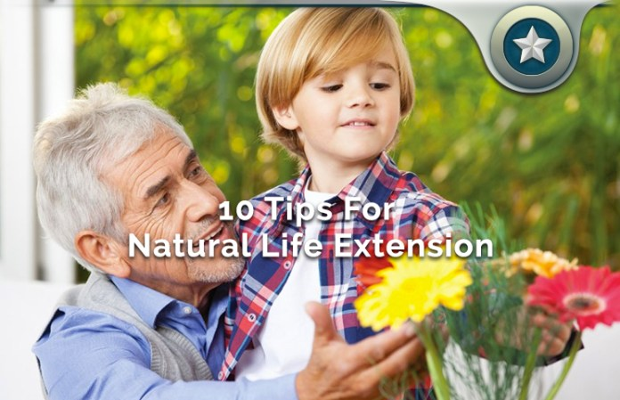 10 Natural Life Extension Health Tips